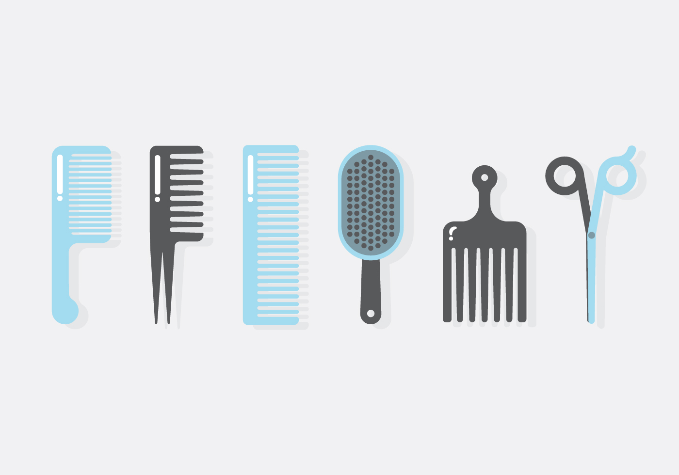 Vector Barber Tools - Download Free Vector Art, Stock ...