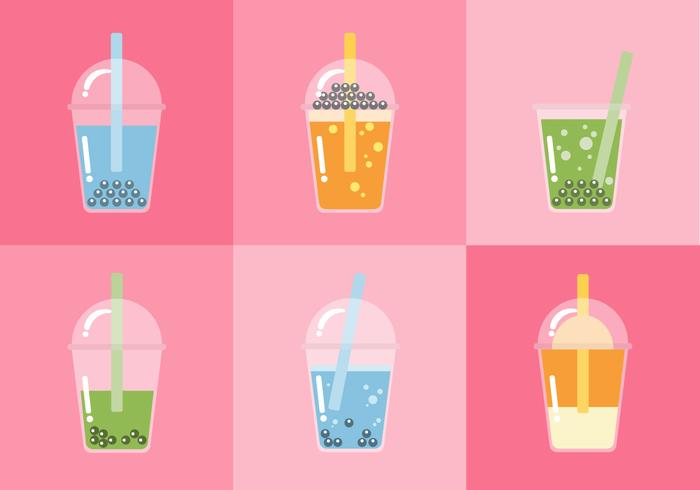 Vector Bubble Tea