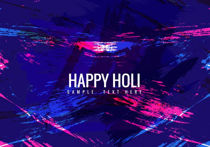 Free Colorful Holi Vector background