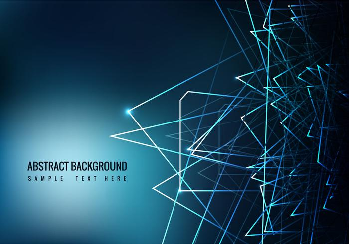Free Blue Abstract Vector Background