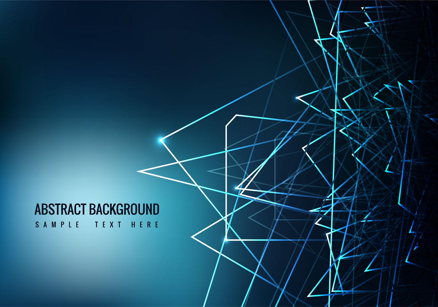Free Blue Abstract Vector Background - Download Free ...