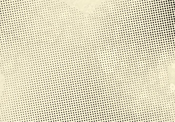 Vector Grunge Halftone Dots Background