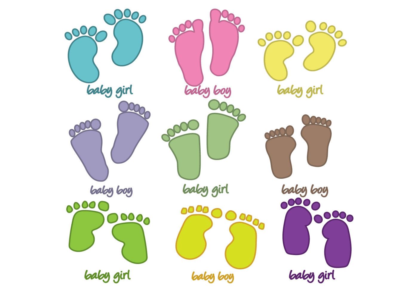 Baby Footprint Art Paint