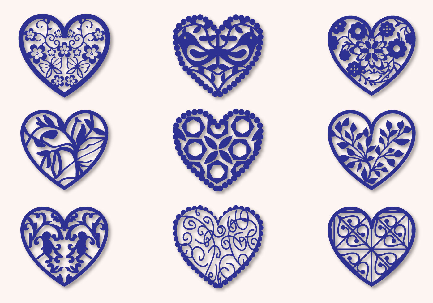 Fretwork Heart Vectors - Download Free Vector Art, Stock ...