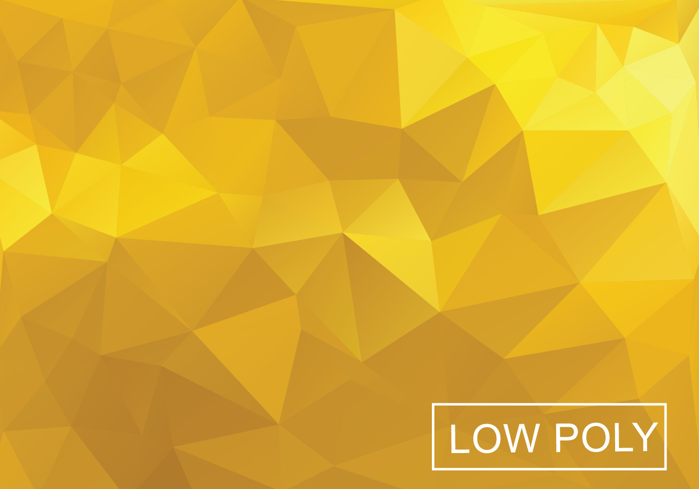 Yellow Poly Vector Background Download Free Vector Art