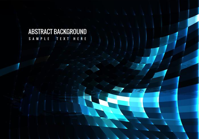 Free Vector Blue Mosaic Background