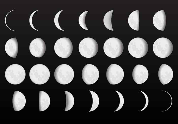 The nest: free printable moon phase art and pattern downloads and.