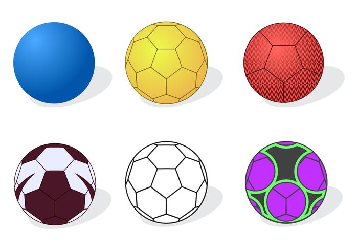 Vecteur de handball gratuit