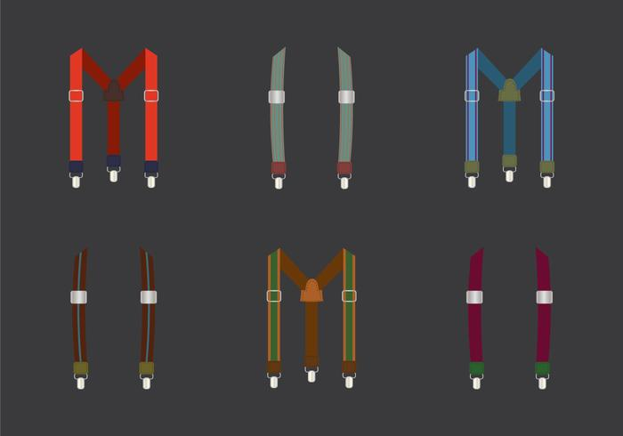 Gratis Suspenders Vector Illustration