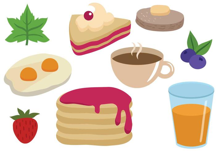Free Breakfast Vectors