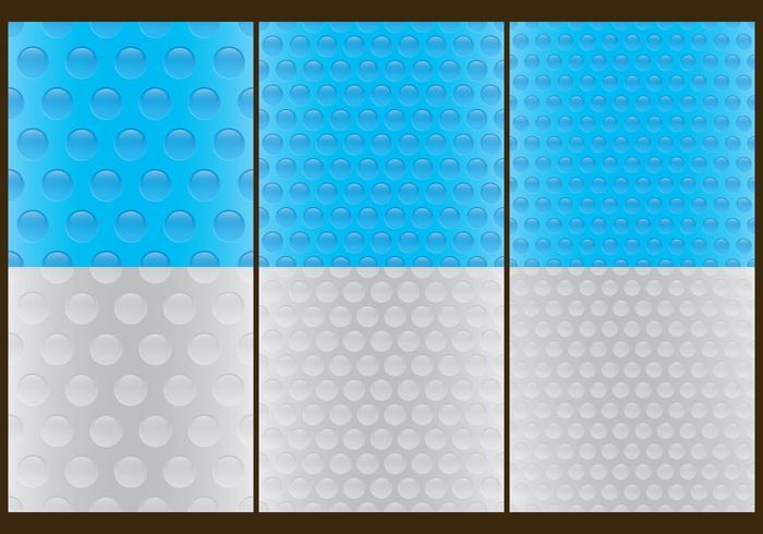 Bubble Wrap Pattern Vectors