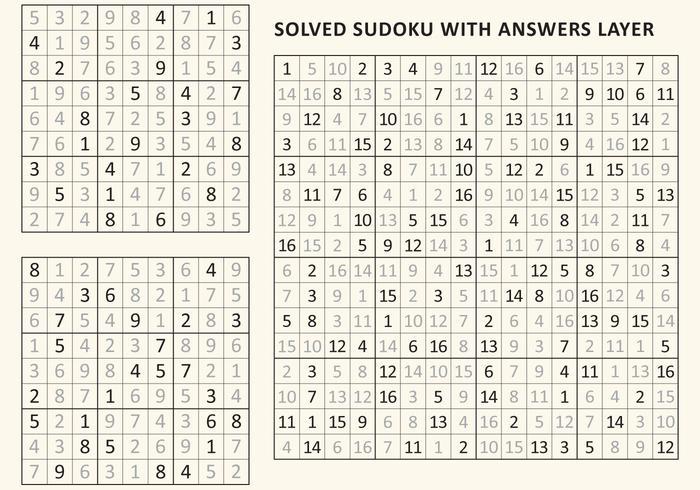 Solved Sudoku