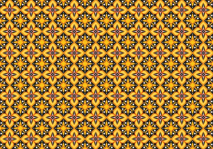 Free Batik Pattern Vector # 6