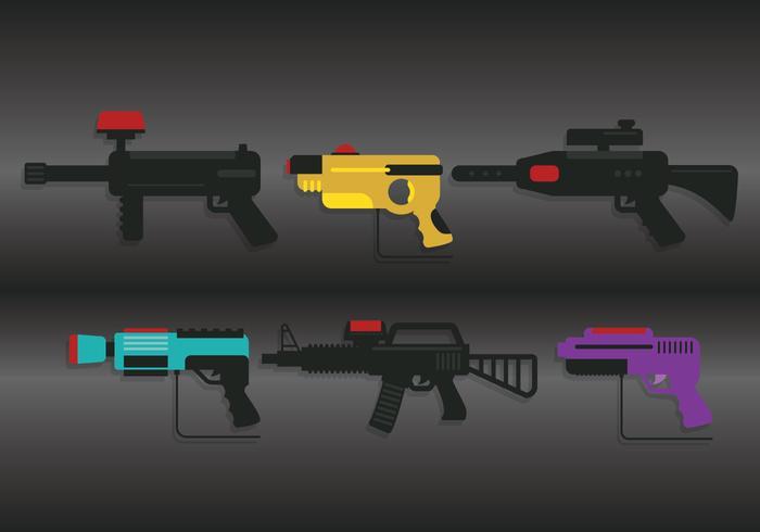 Laser tag vector