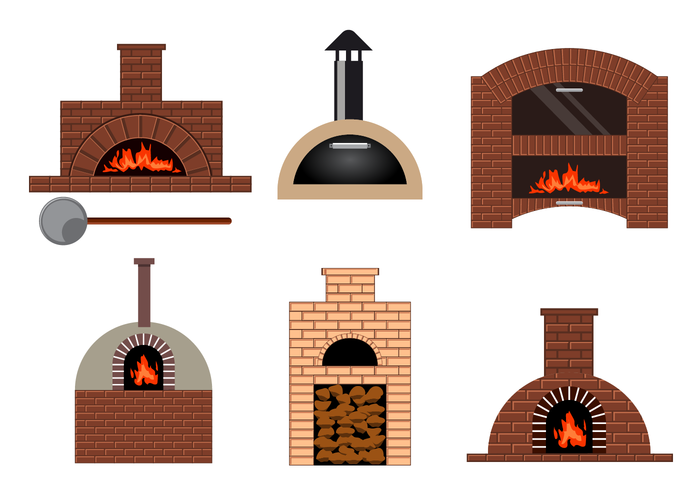 Free Pizza Oven Vector