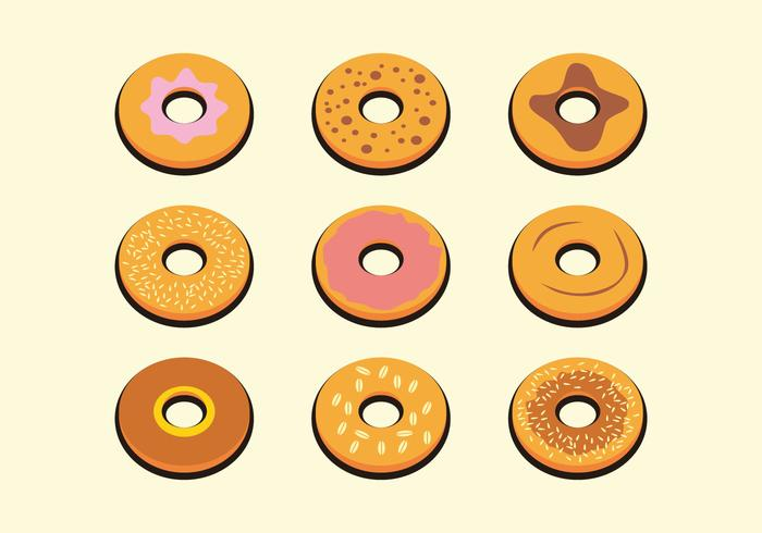 Yummy Bagel Vector