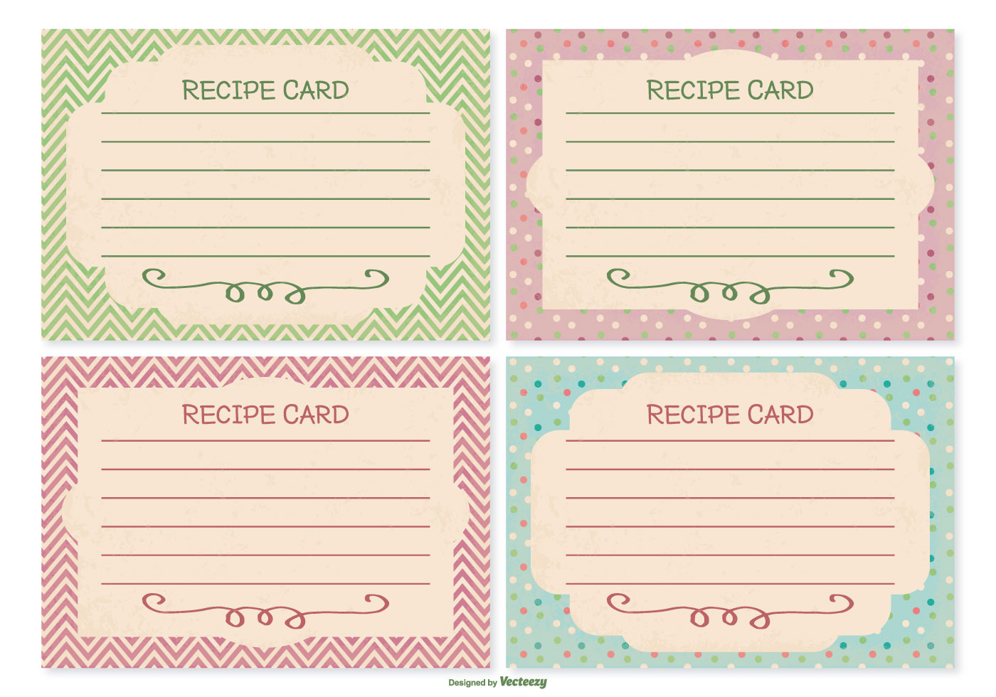 Kitchen Collection Recipe Cards