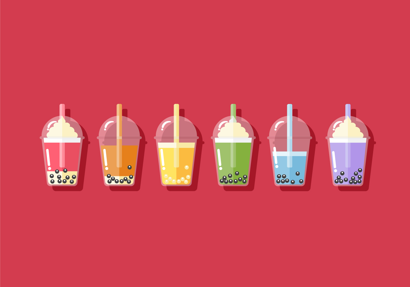 Vector Drinks Icons Free Download