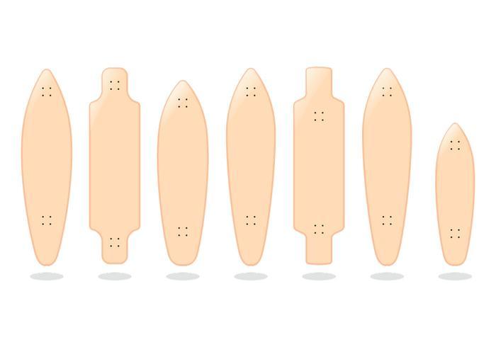 Hawaiian Longboard Vectors