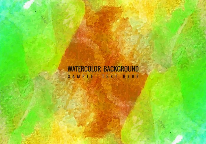 Free Vector Watercolor Design
