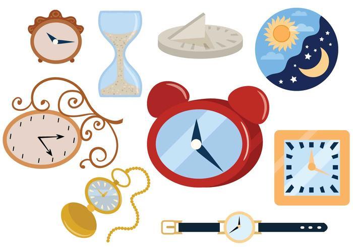 Free Clocks Vectors