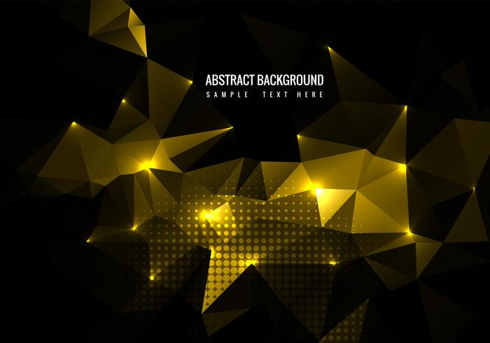 Free Vector Shiny Polygon Background