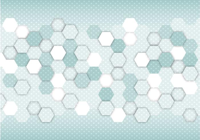 Vector hexagonal abstraite gratuit