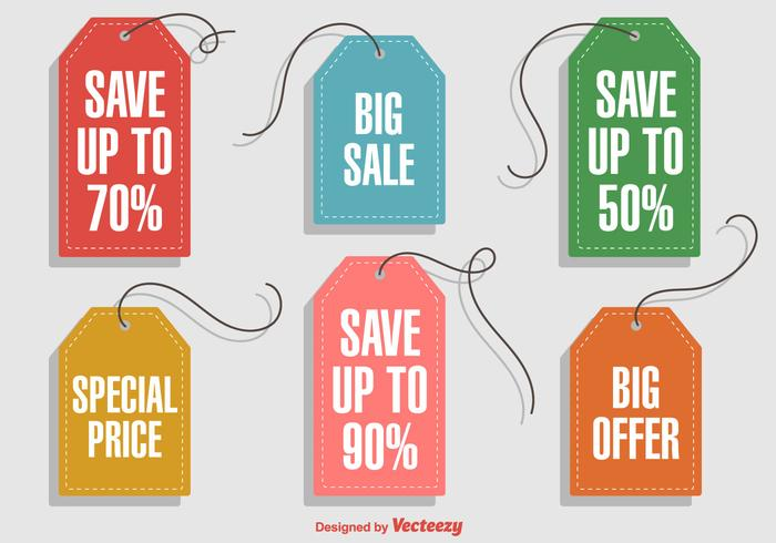 Hanging Discount Labels