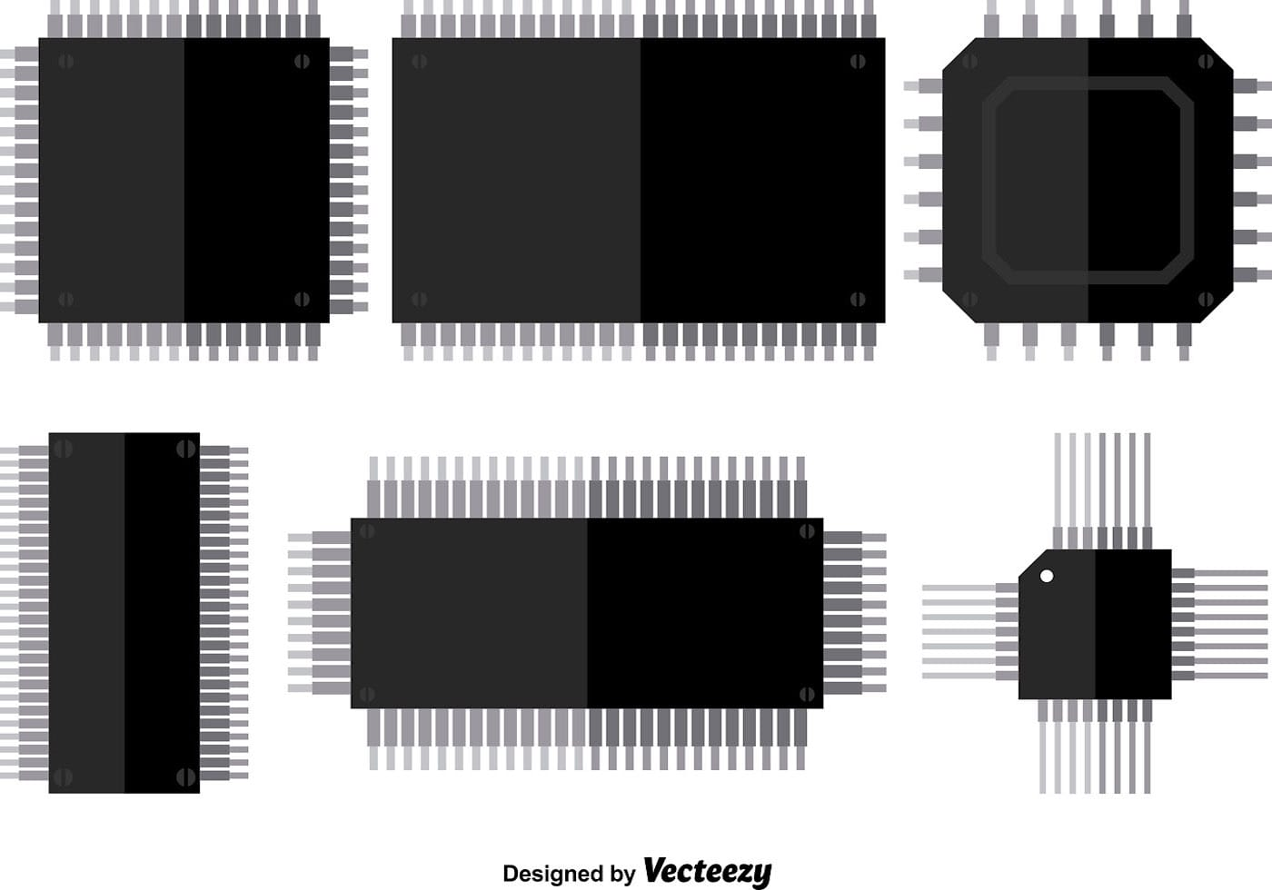 Microchip Vector Icons Download Free Vector Art Stock