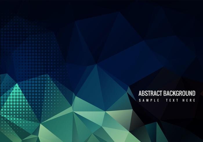 Free Vector Polygon Background