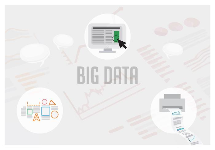 Free Big Data Vector Illustration
