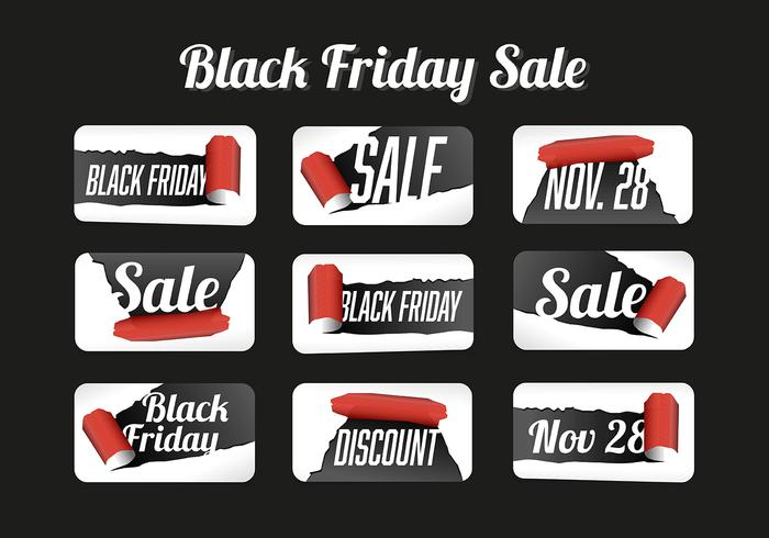 Free Black Friday Vector Background