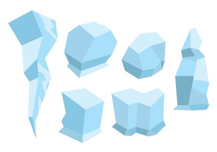 Ice Age Vector Set