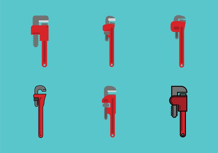 Free Monkey Wrench Vector Illustration