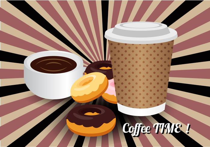 Free Coffee Time Vector