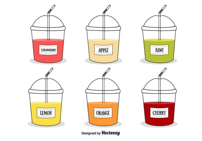 Fresh Juices Vector