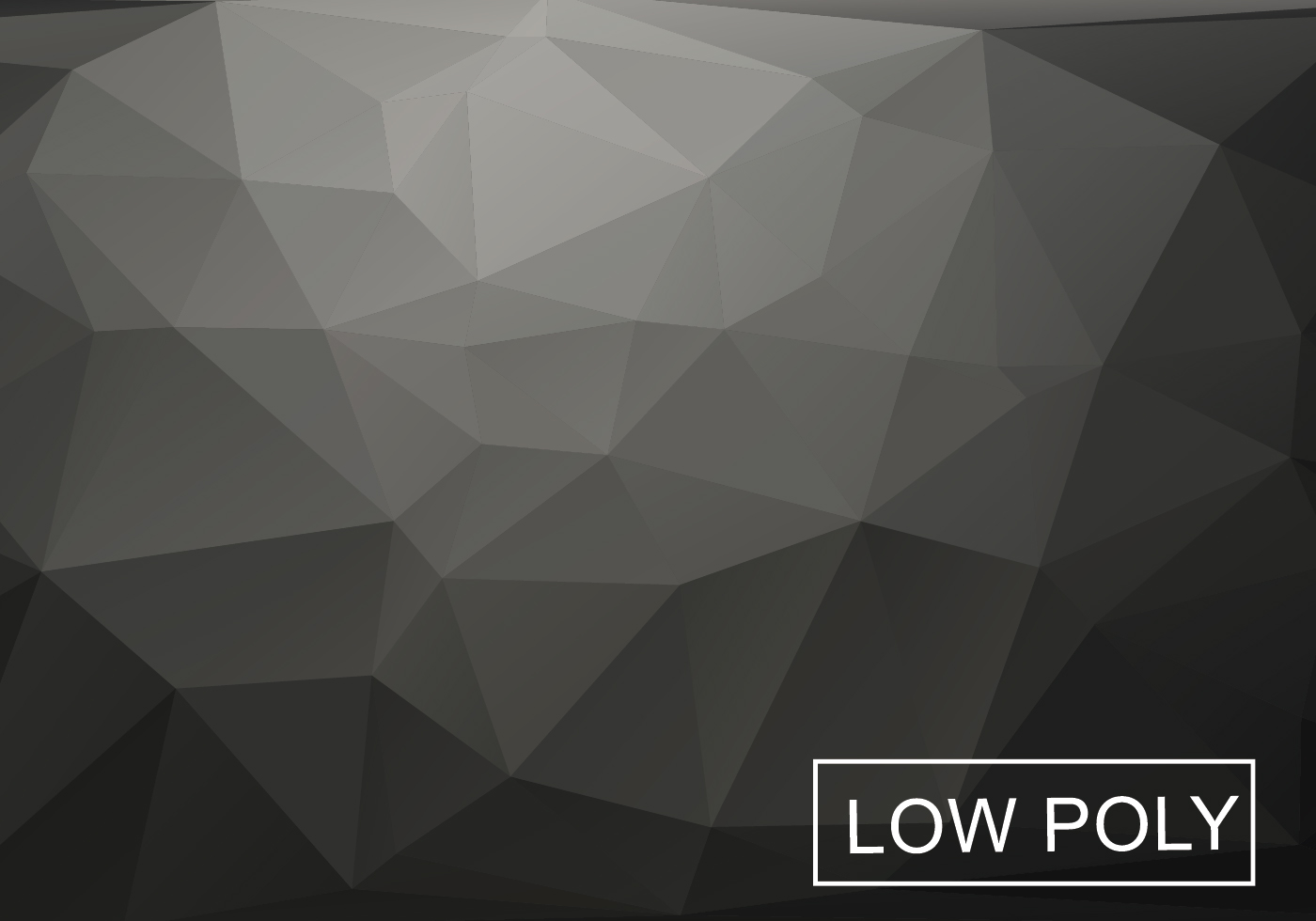 Gray Low Poly Background Vector Download Free Vector Art