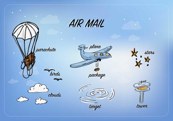 Free Air Mail Vector