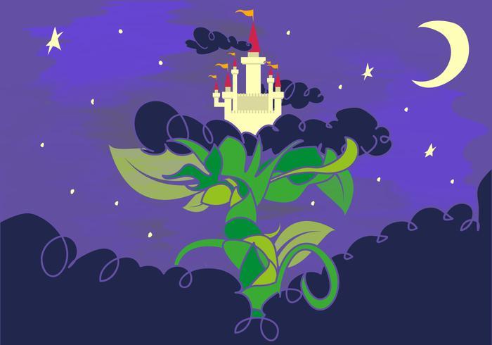 Beanstalk Fairy Tale Giants Castle