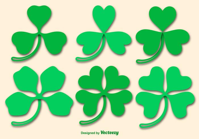 Clover Vector Icons