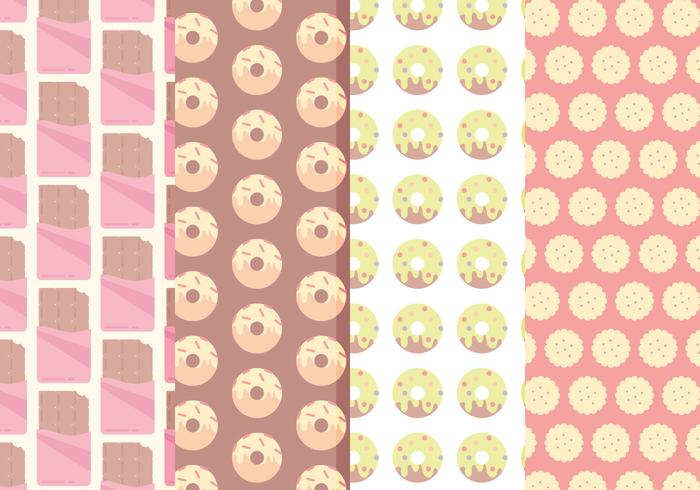Patterns Sweets Vectorisés