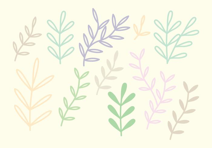 Colorful Vector Branches