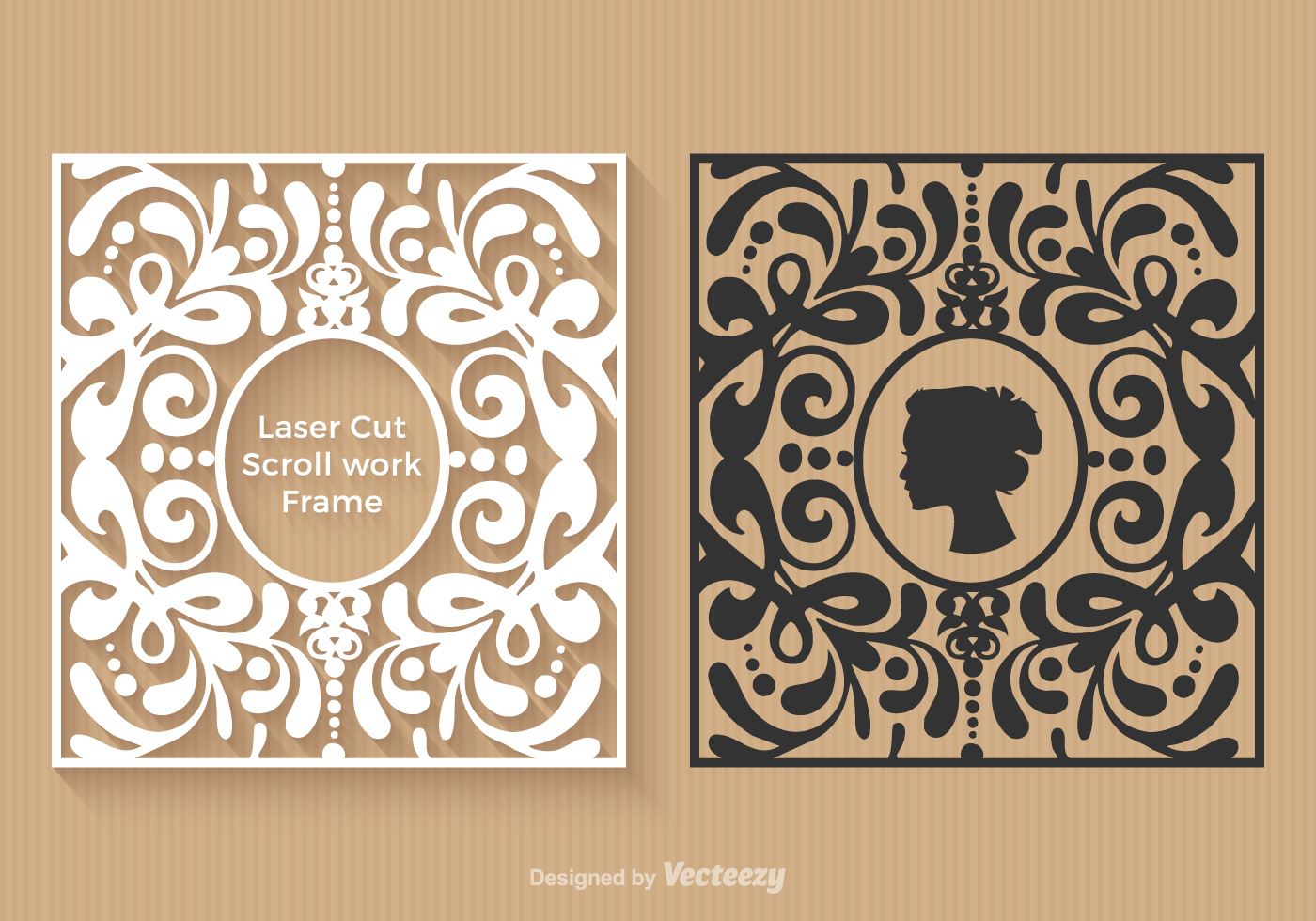 Free laser cut vector frames download free vector art for Free laser cutter templates