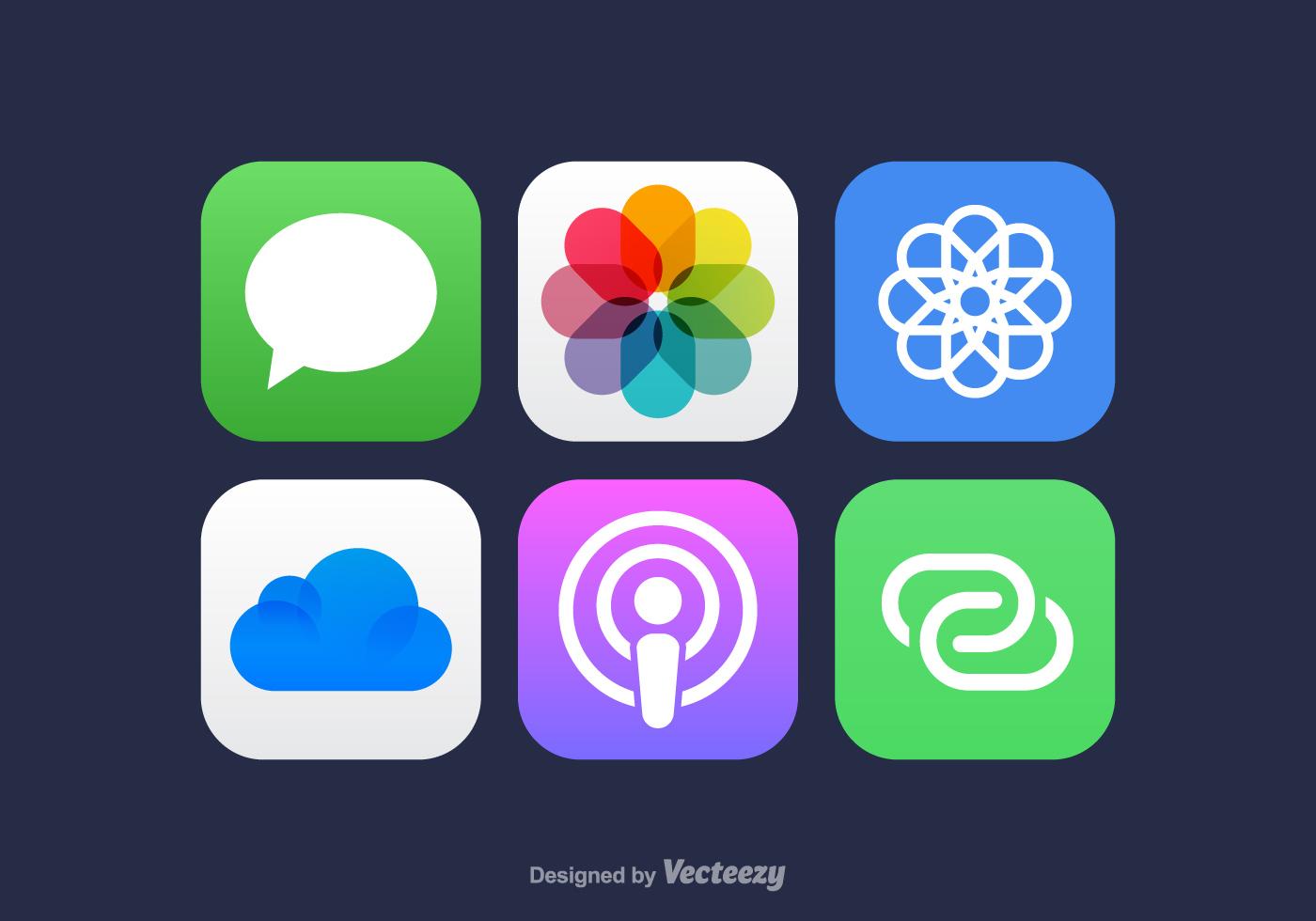 app icon free vector art 33597 free downloads