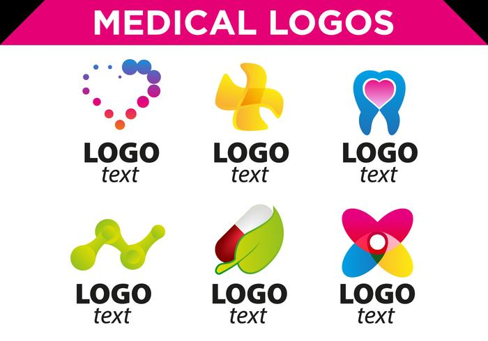 Medical Logos Templates Free Vector