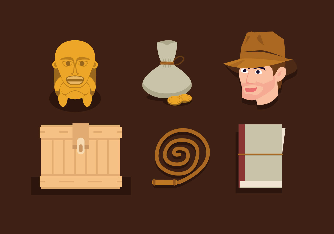 Vector Indiana Jones - Download Free Vectors, Clipart Graphics & Vector Art