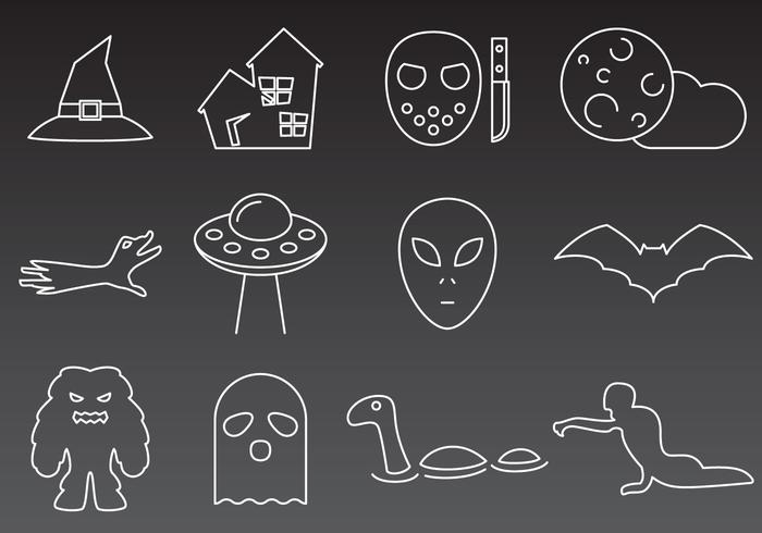 Monsters And Mystery Icons