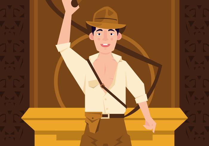 Vector Indiana Jones Action