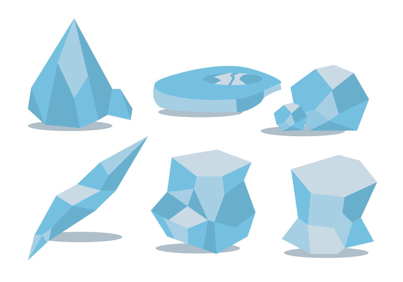 ice age vector set download free vector art stock