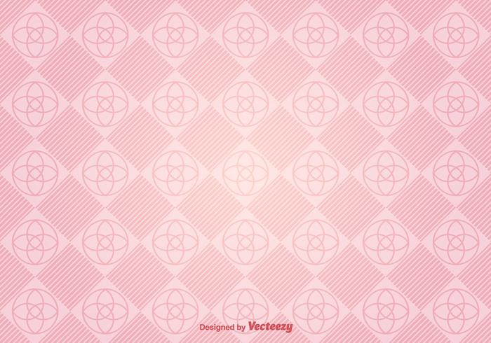 Vector Modern Pink Background With Geometric Figures